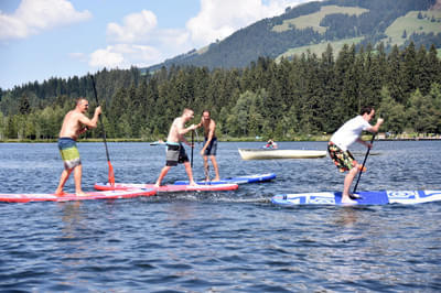 SUP Polo Masters am Schwarzsee