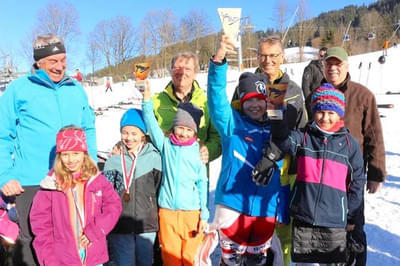 Wintersteller Bataillons Skirennen in Oberndorf
